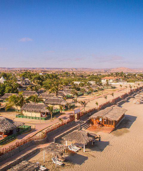 Vichayito bungalows and carpas